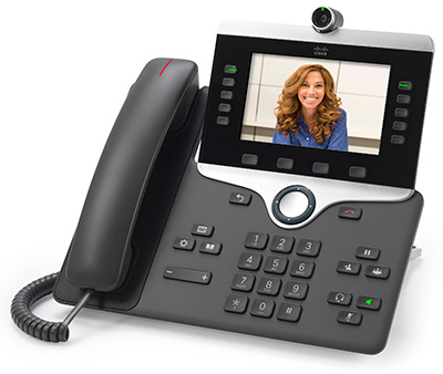 Cisco IP Phone 8865 - a video collaboration endpoint