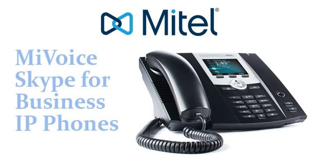 Mitel MiVoice Microsoft Lync IP Phones