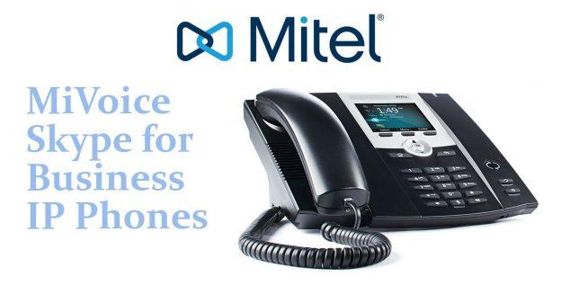 Mitel MiVoice Microsoft Lync IP Phones